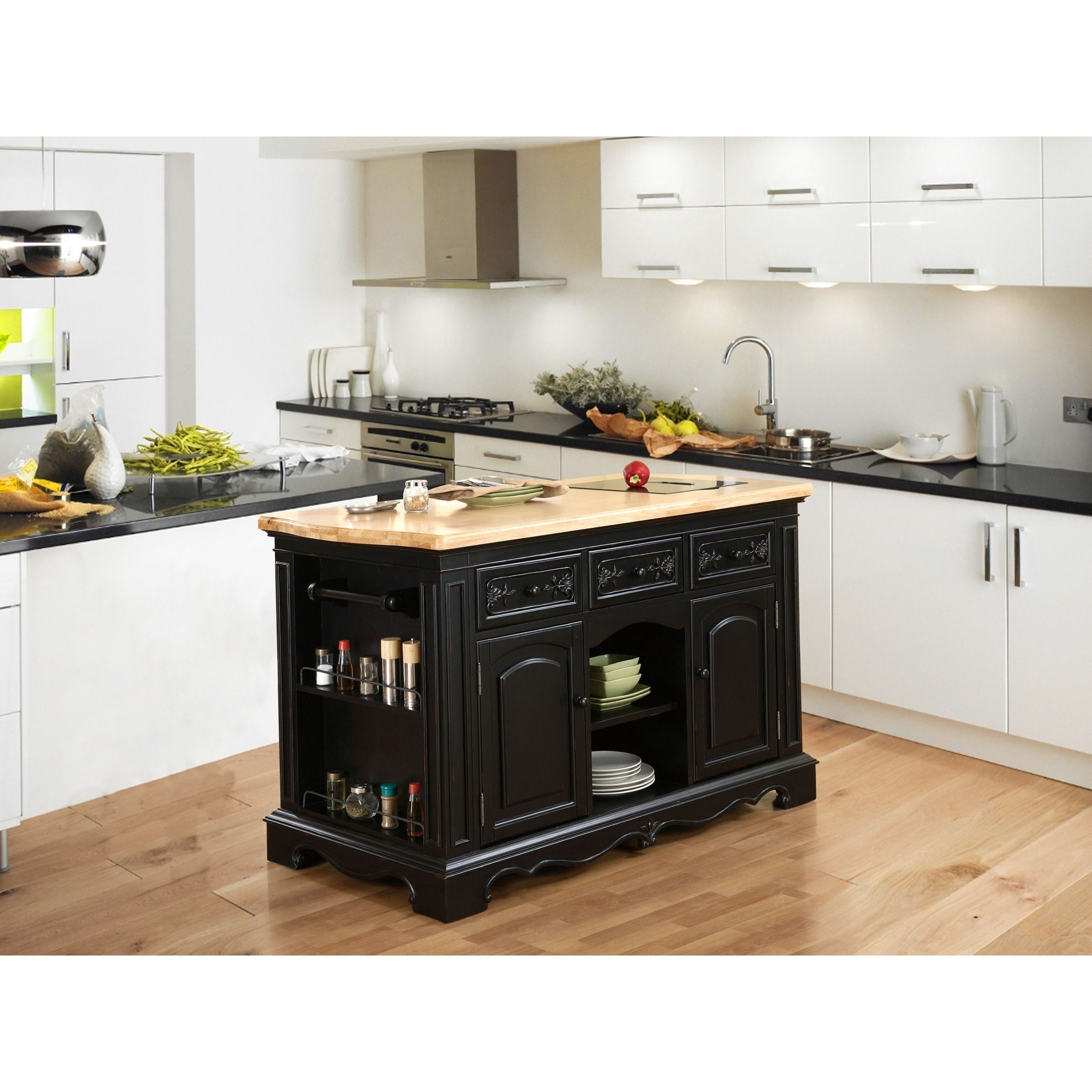 Powell Raeford Kitchen Island (Powell Pennfield Kitchen ...