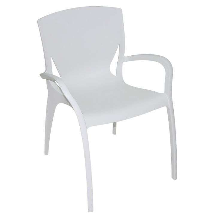 Compre Cadeira Clarice Branca e pague em até 12x sem juros. Na Mobly a sua compra é rápida e segura. Confira!