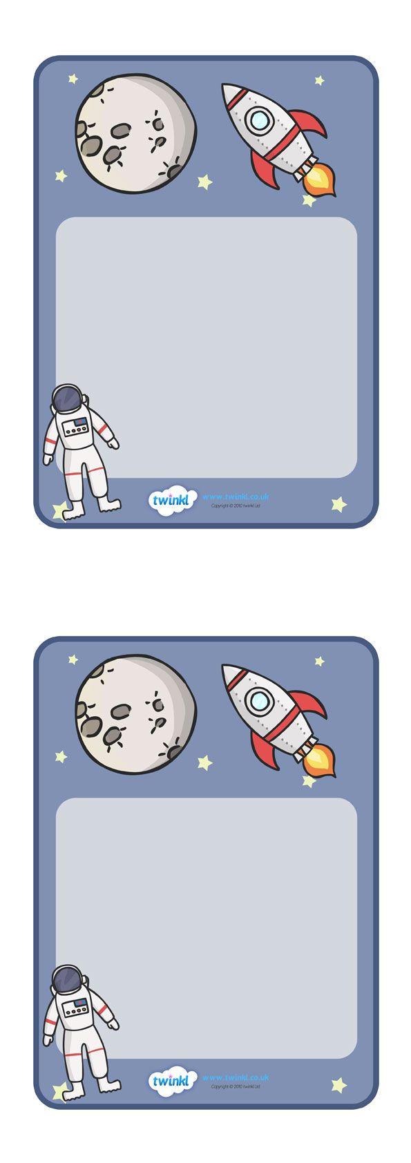 space theme labels Twinkl Resources >> Space Theme Class Sign ...