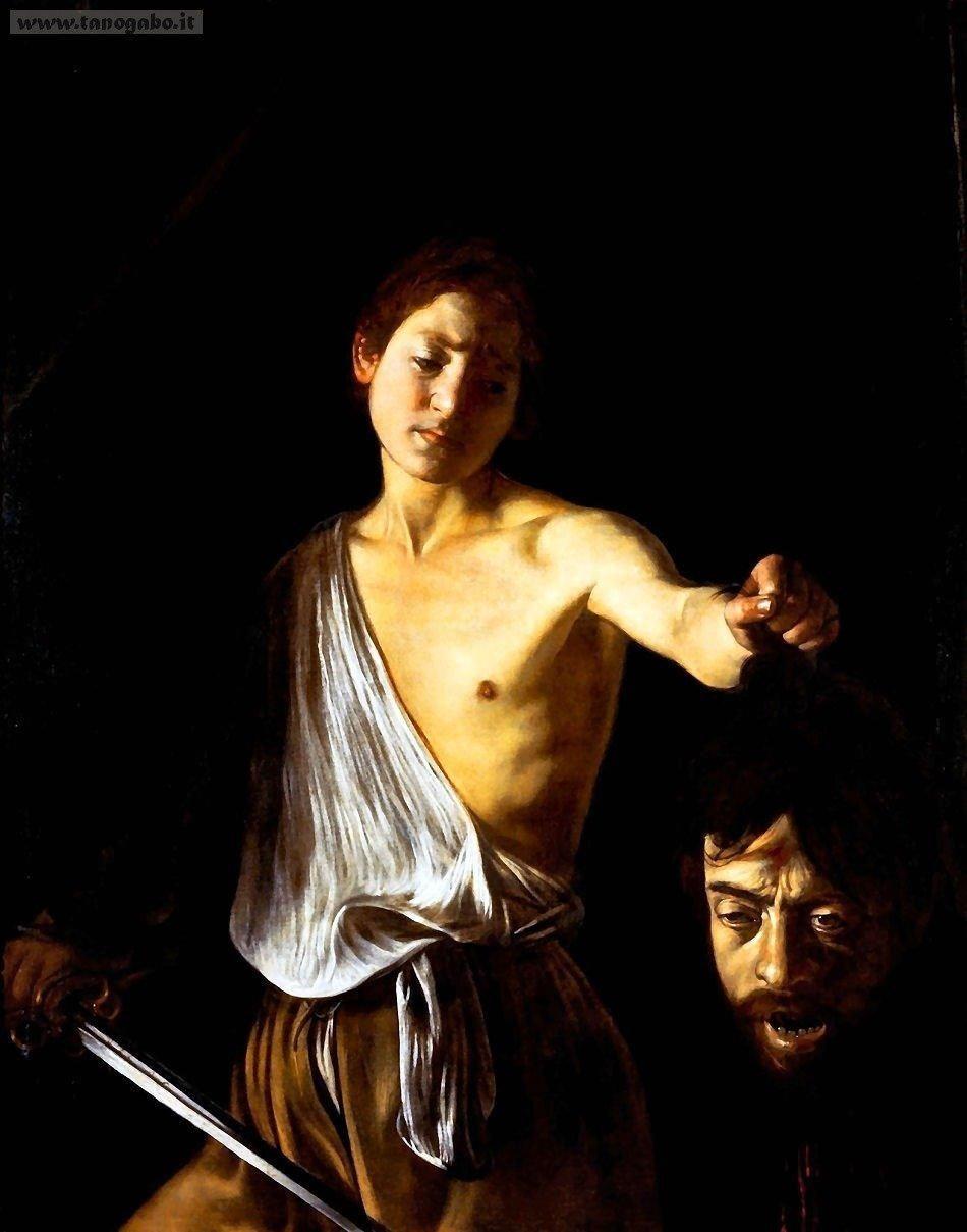 Caravaggio - David with the head of Goliath (a self-portrait)
