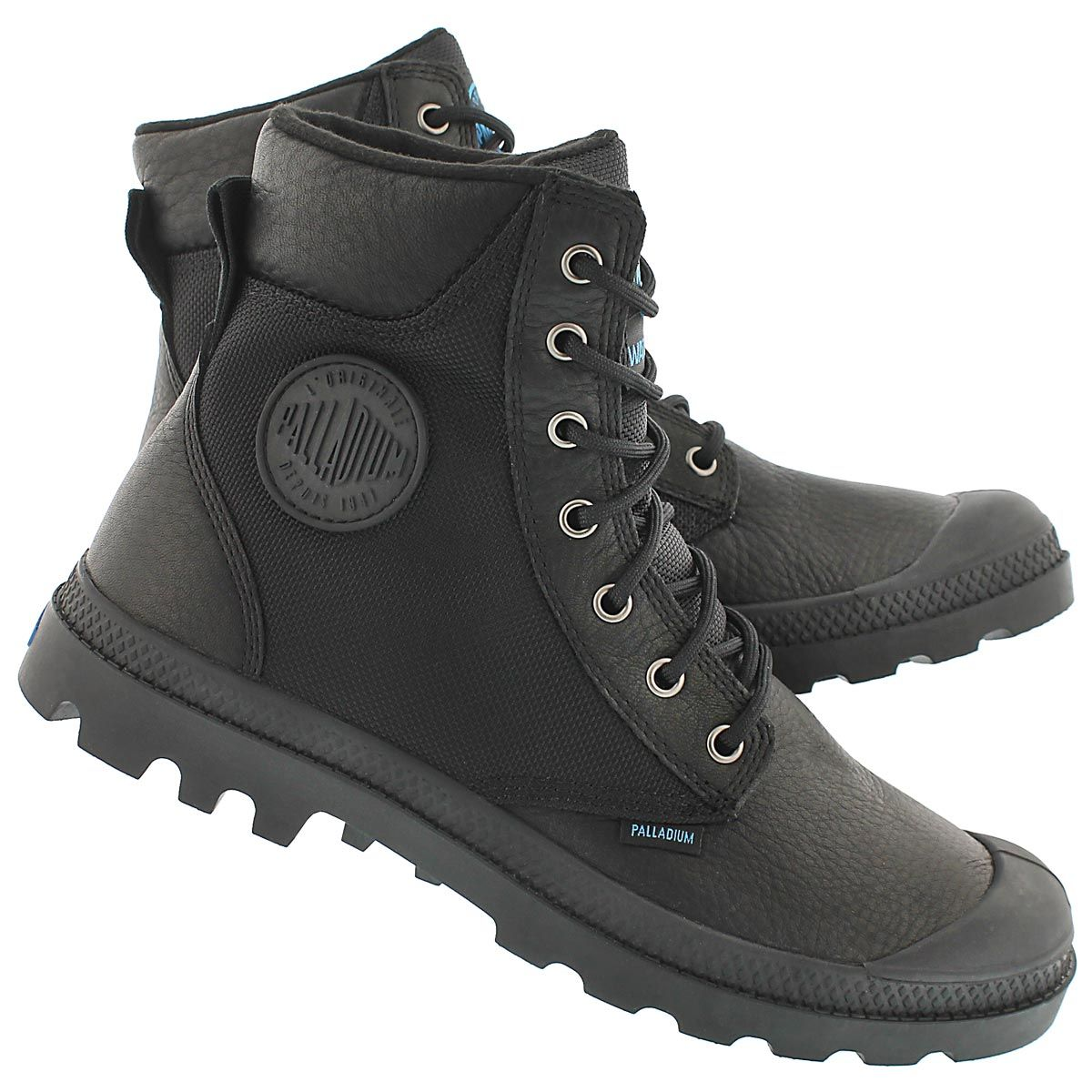 8f292ff4c96d49 Palladium Men s PAMPA SPORT CUFF black waterproof boots 73234-001 ...