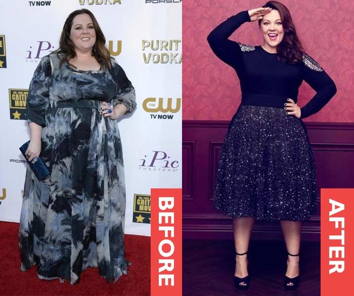 mike and molly lose weight