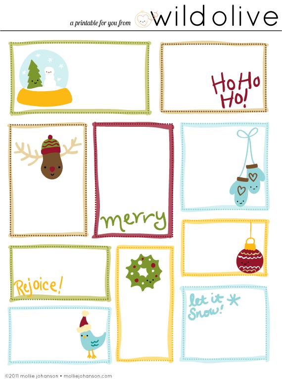 Wild Olive Print Christmas Gift Tags Christmas Gift Tags Printable Free Printable Christmas Gift Tags Christmas Gift Tags