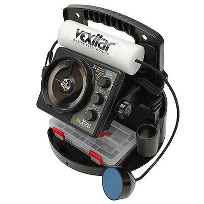 Vexilar Flx 28 Propack Ii W Pro View Iceducer Fish Finder Marine