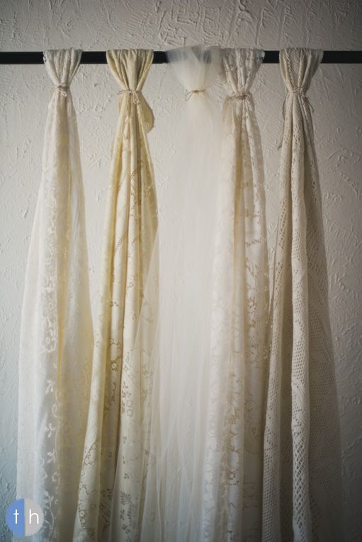 Lace Tulle Altar Backdrop Use With A Tension Rod To Section Off Area Tulle Wedding Decorations Indoor Wedding Arches Wedding Backdrop