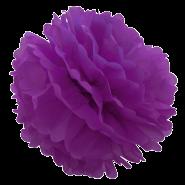 Purple Tissue Pompoms