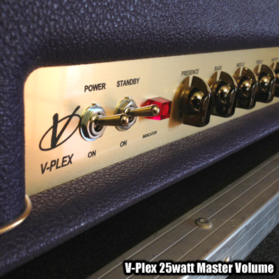 Voodoo Amps 'V-Plex' 25-watt w/Purple Levant Tolex | Voodoo