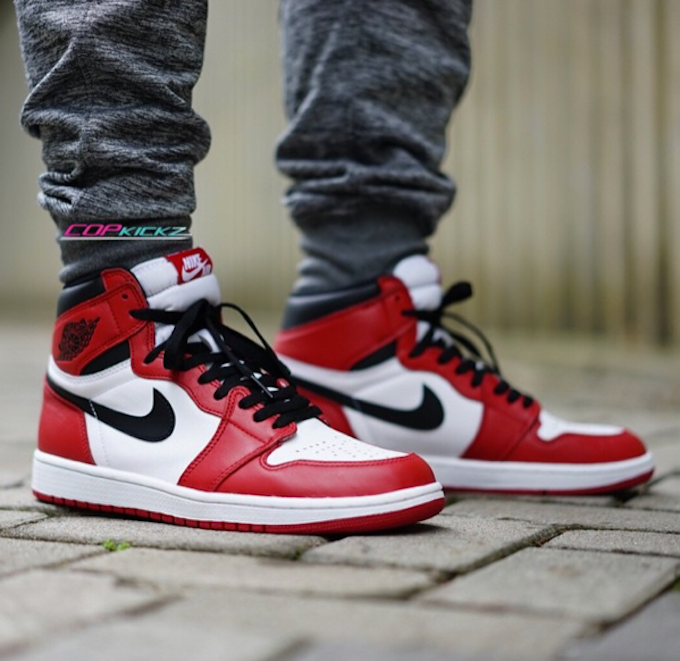 Launching Saturday. Nike Air Jordan 1 High Chicago thesolesupplier.c ... 7d697028c2
