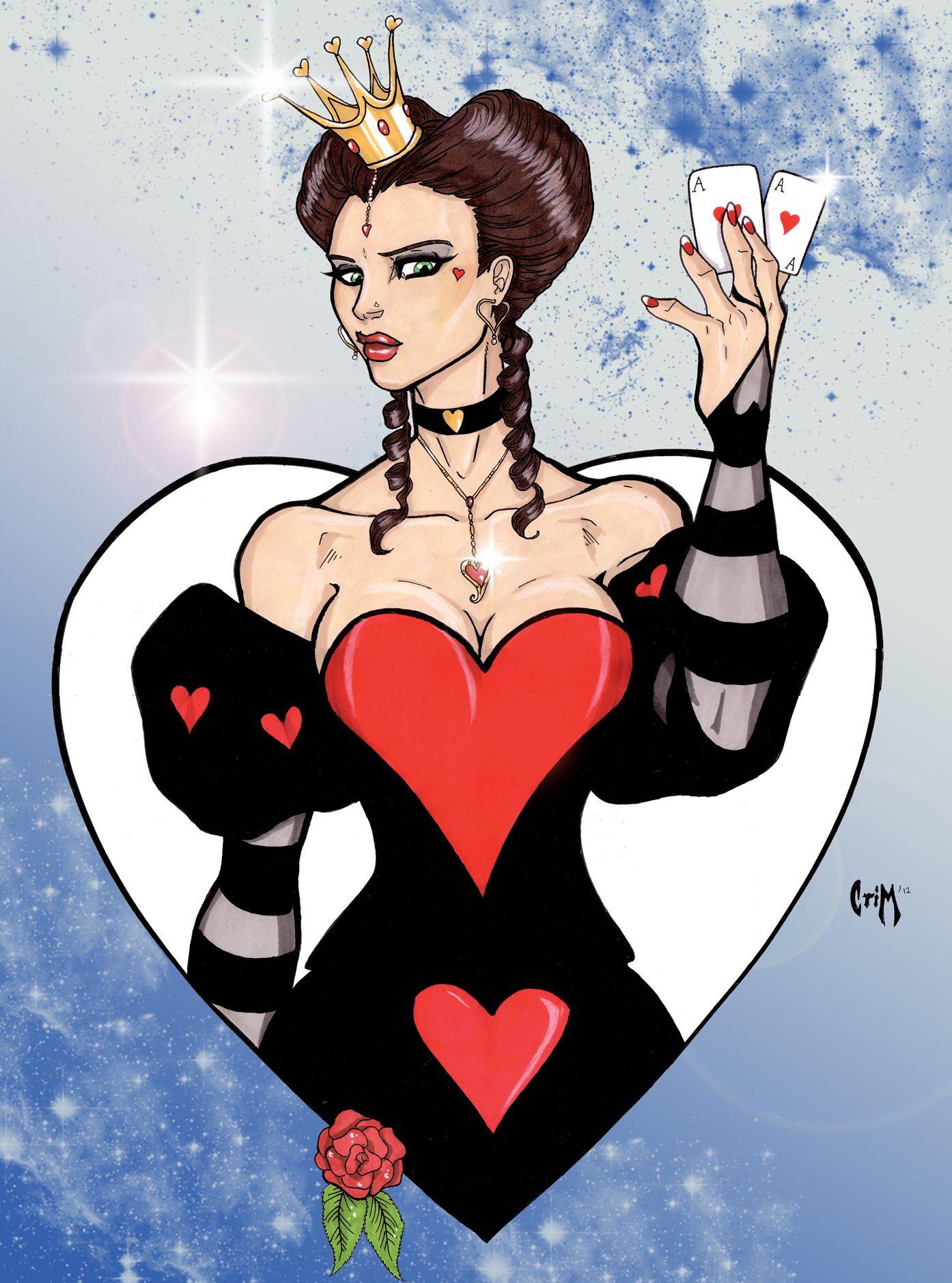 The Queen of Hearts by CrimsonArtz Disney, Mulheres