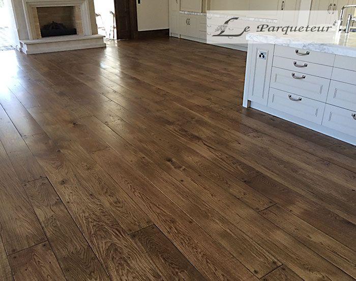 French Oak Wooden Floor Inspiration For Del Prado Dollhouse 112