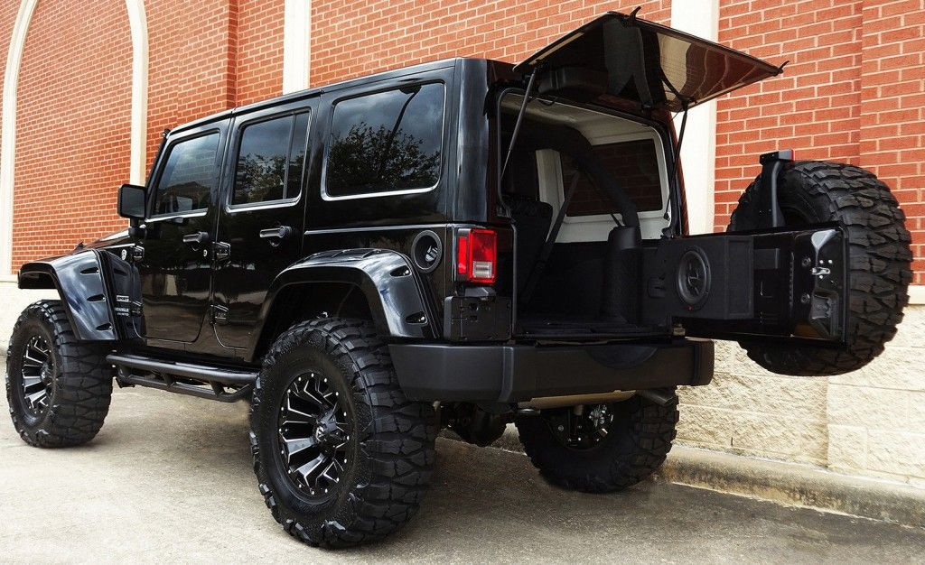 2016 Jeep Wrangler Unlimited Sport 4×4 Carro blindado