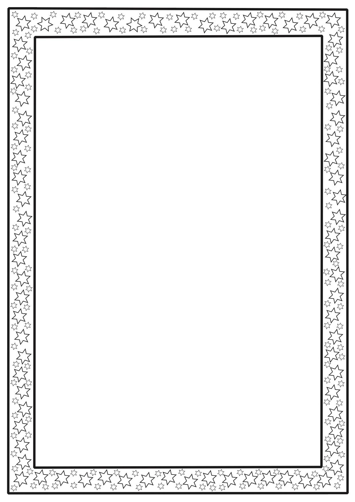 Full page borders print out a wide range of free page for Paper border