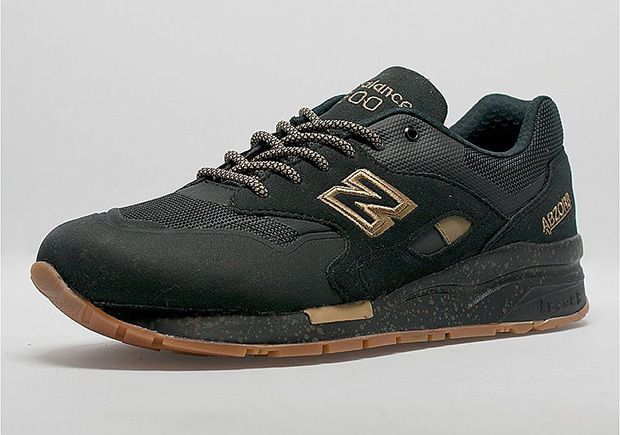 The New Balance 1600 Gets The Winning Combo of Black, Gold, and ...