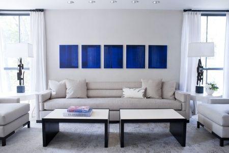 dco salon bleu de belles ides pour sinspirer belle deco and deco salon - Decoration Salon Bleu