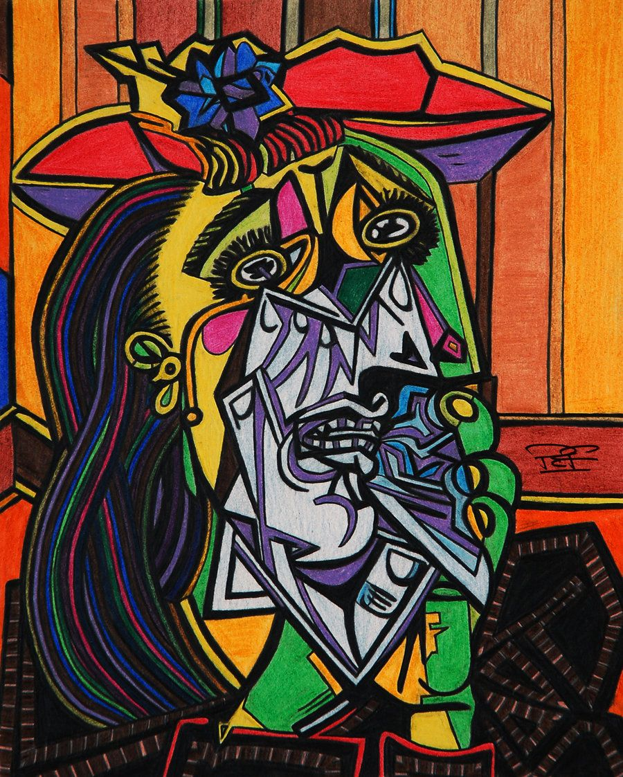 The Weeping Woman 1937 Pablo Picasso Picasso Art Picasso Paintings Cubist Portraits
