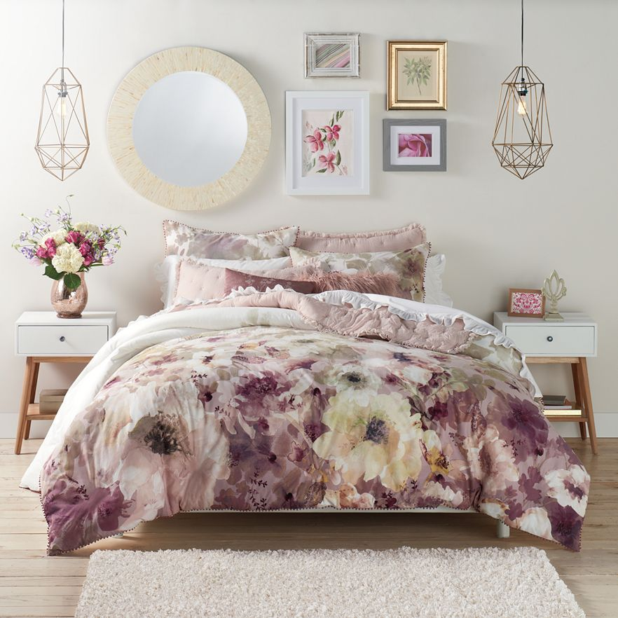 Lc Lauren Conrad Bloom Comforter Set Available At Kohl S Home