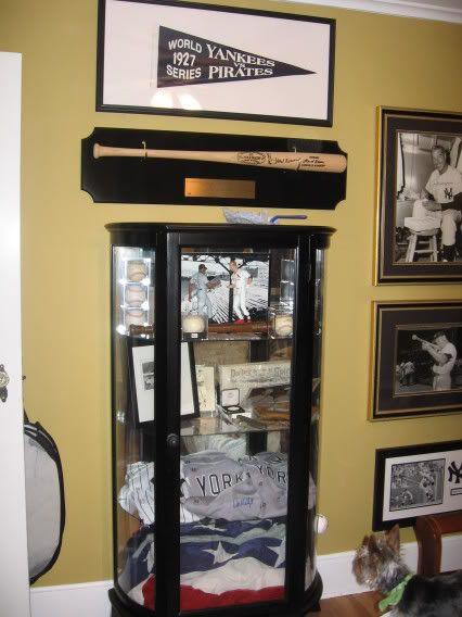 Gl Display Cabinet With Sports Memorabilia