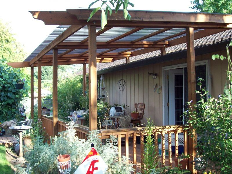 Deck canopy & diy awning - Google Search | Deck | Pinterest | Shade structure ...
