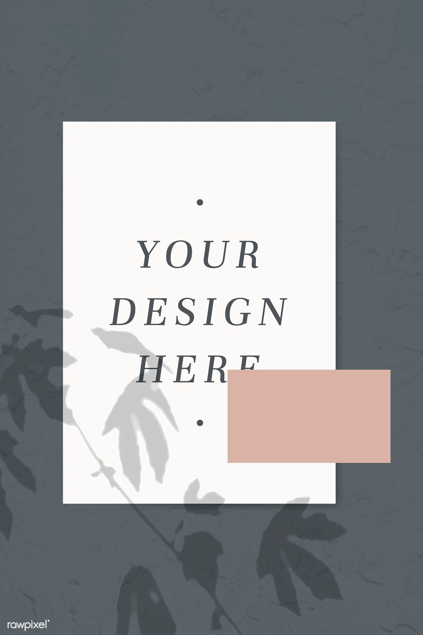 Download premium vector of Neutral color tone poster