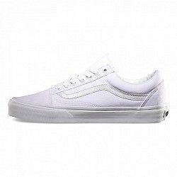 vans blancas old skool