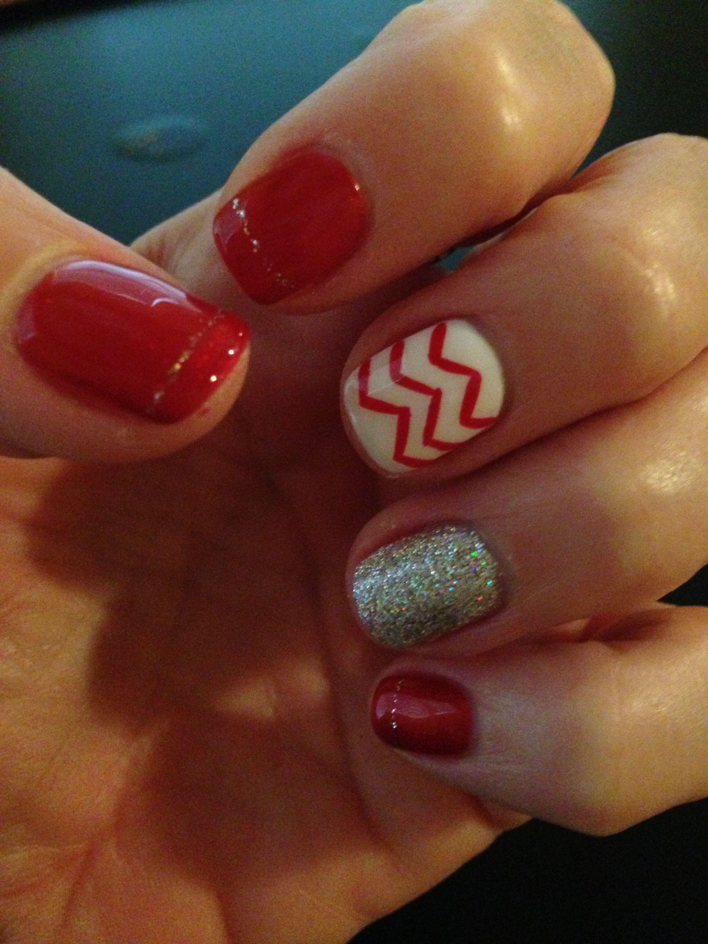 Husker nails | Hair and Nails | Pinterest | Makeup, Hair makeup and ...