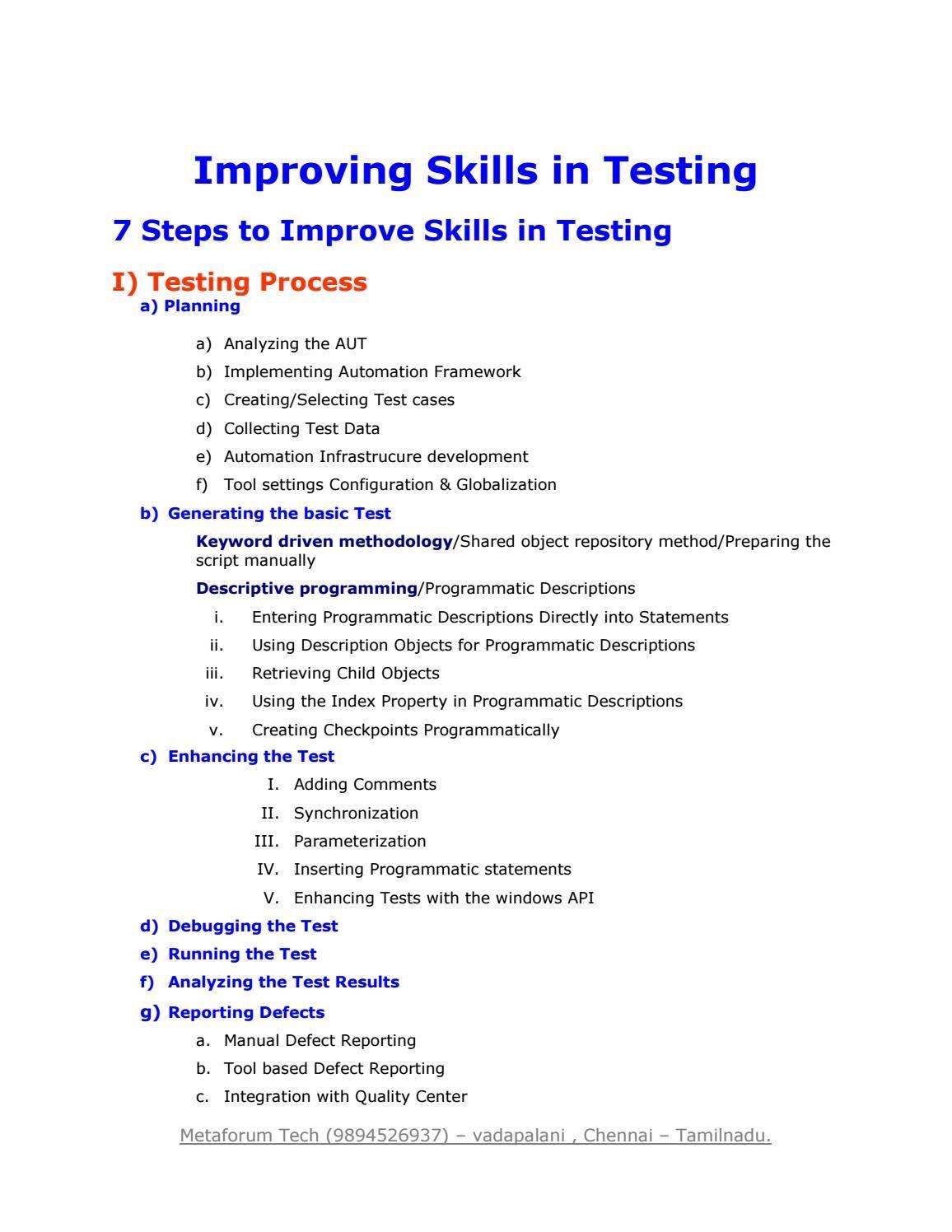 Best Selenium Testing Training Institute In Chennai Best Selenium