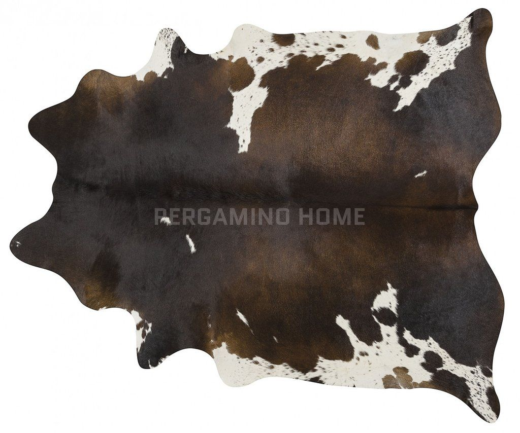 Chocolate And White Brazilian Cowhide Rug Cow Hide Rug White Cowhide Rug Large Rugs