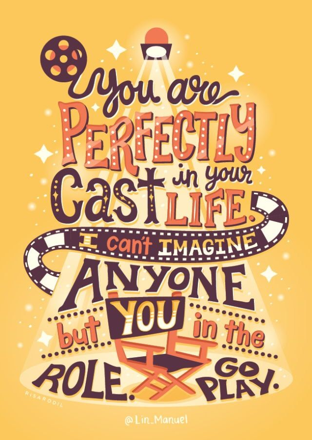 Inspirational quote by Lin-Manuel Miranda | TypoGraphy ...