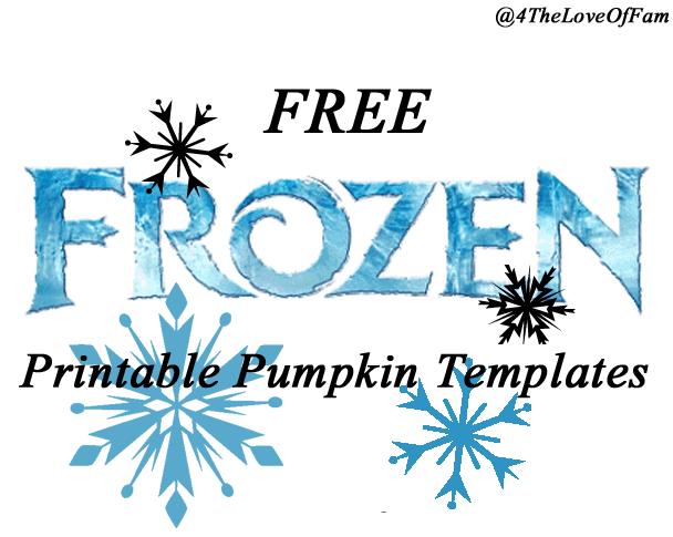 free frozen pumpkin carving halloween templates free stencil printables elsa anna olaf - Stencil Printouts Free