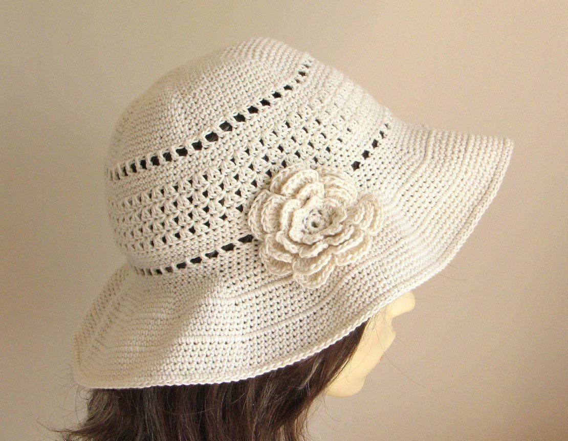 Crochet pattern to make a Sun Hat INSTANT por KeepersCottageCrafts ...