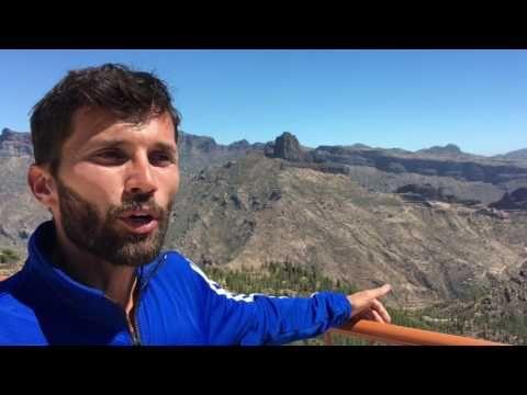 Efrén Segundo de las Carreras de Montaña Canarias al Mundial - YouTube