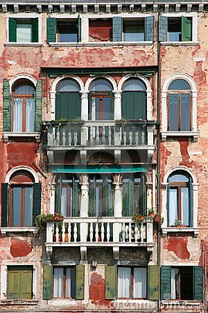 old venice facade by Apho, via Dreamstime Venice