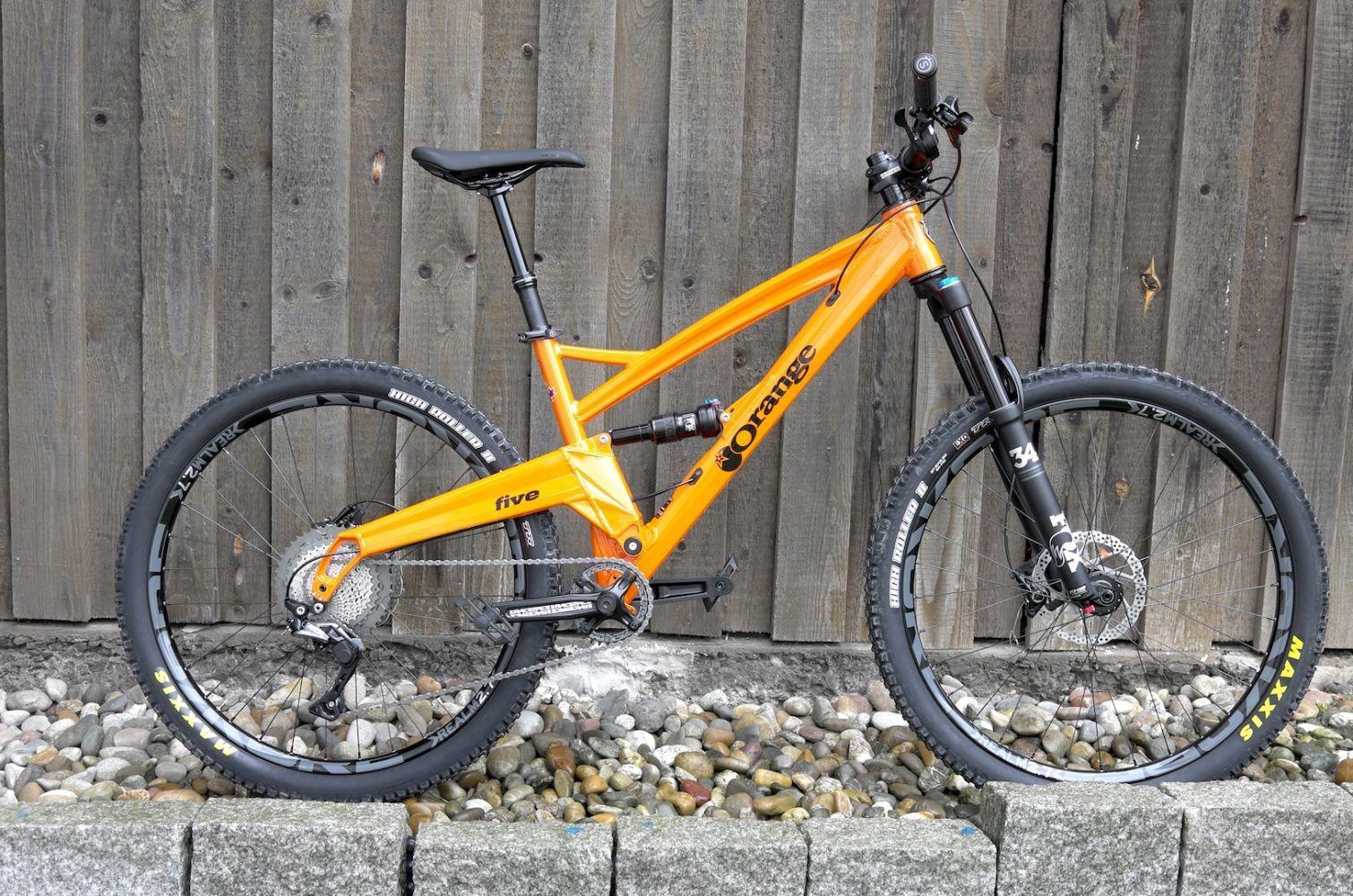 Galerie Orange Bikes Custom Bikes von Frank Kimmerle - Riese Müller Nicolai Brooks Orange