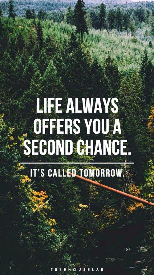 The Antidote To Coulda, Shoulda, Woulda. Tomorrow, Tomorrow I Love Ya  Tomorrow, Youu0027re Only A Day Away.