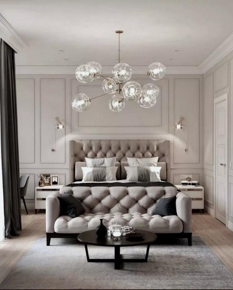 36 Romantic Master Bedroom Design Ideas Romanticmasterbedroom Masterbedroomdesign Masterbed Beige Bedroom Decor Luxury Bedroom Master Master Bedrooms Decor