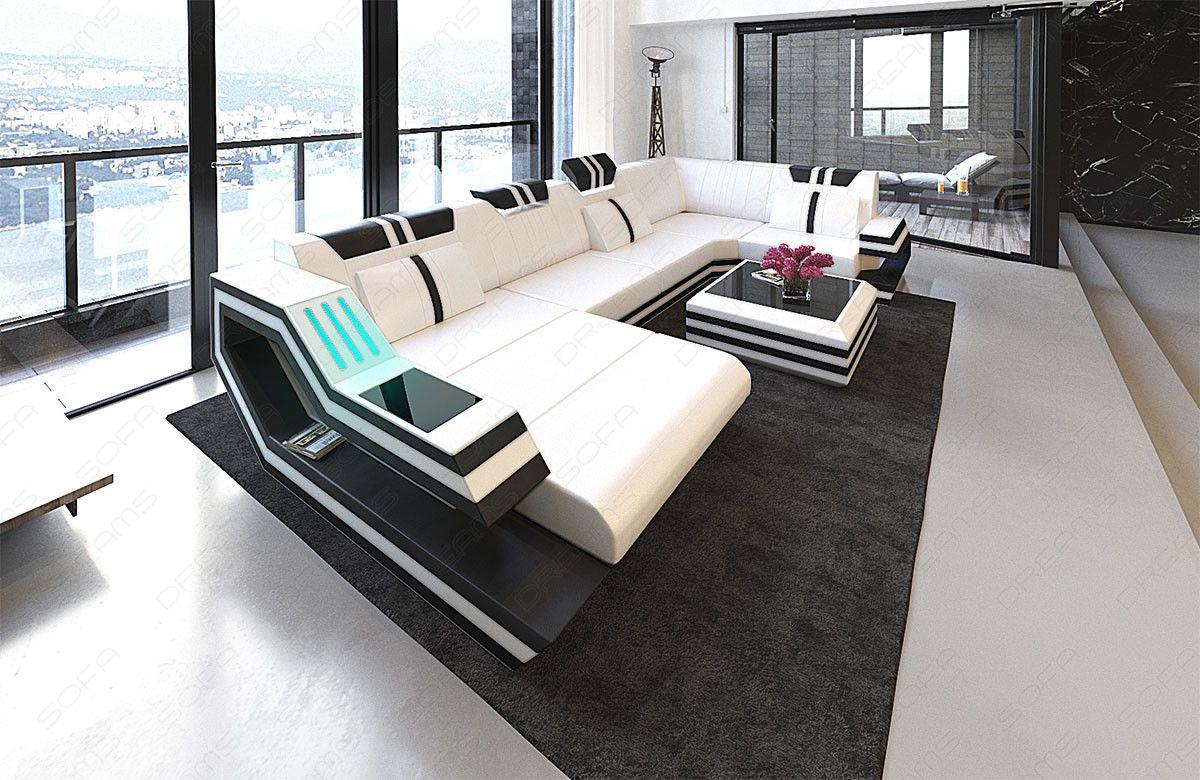 Design Sectional Sofa Hollywood U Shape With Led And Usb Modern Fabric Sofa Modern Fabric Sectional Sofa Fabric Sectional Sofas