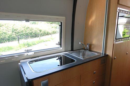 Ausbaumöglichkeiten der Küche im Kastenwagen