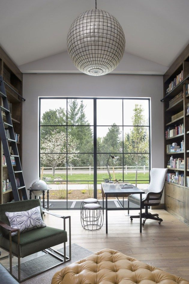 16 Tremendous Farmhouse Home Office Interiors Youre Gonna Love To Work In Remote Jobs Are Slowly Taking Over The Market And If Among Lucky Ones
