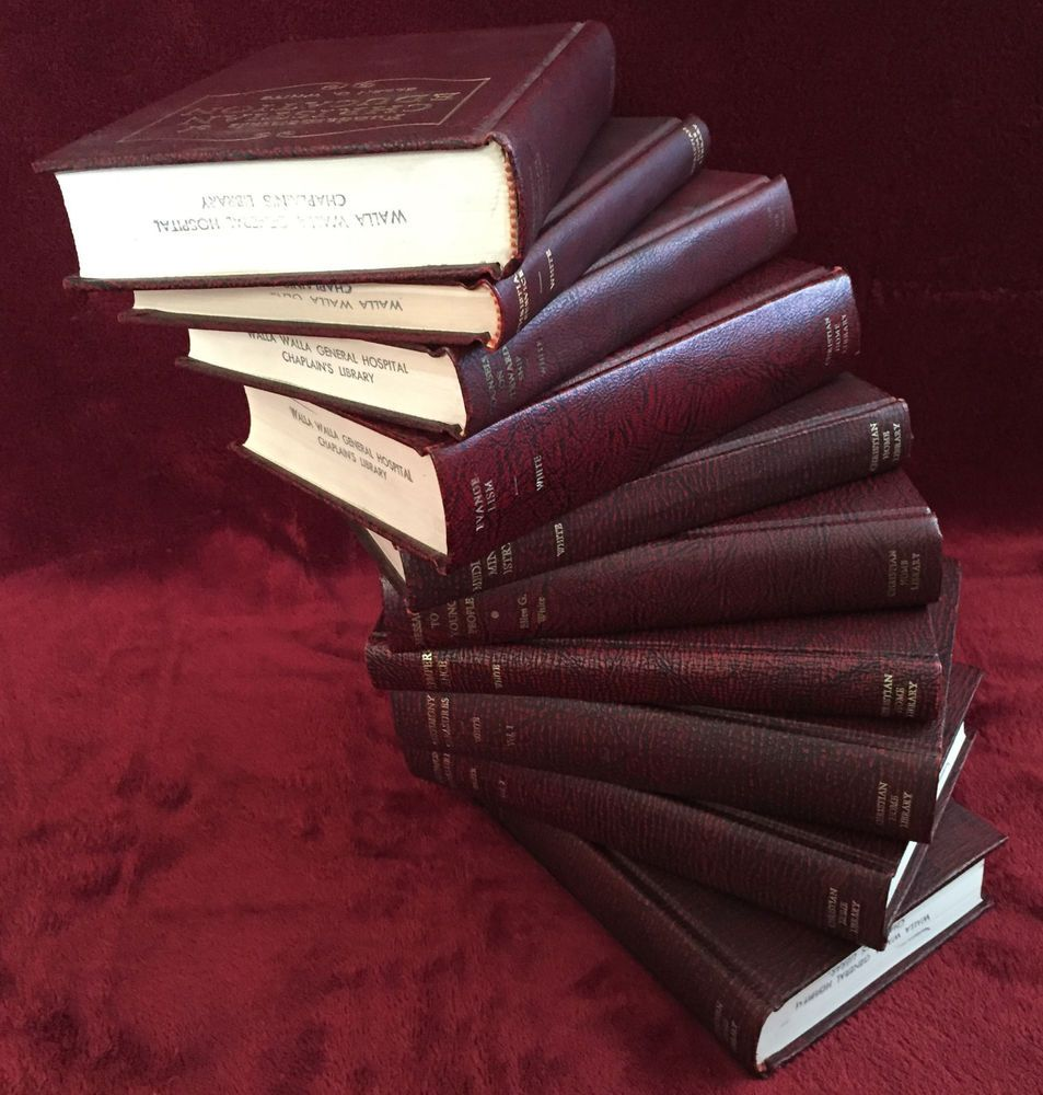 ellen g white 10 book lot 1 maroon stairway to heaven instant home ellen g white 10 book lot 1 maroon stairway to heaven instant home decor sda egw