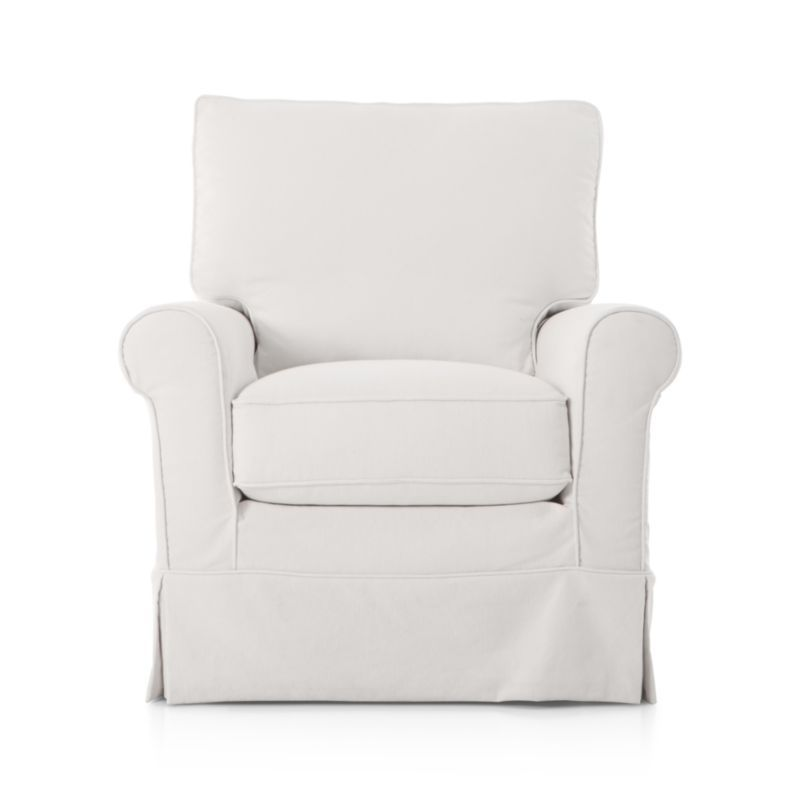 Harborside Slipcovered Chair Crate And Barrel Slipcovers For Chairs Stylish Rocking Chairs Slipcovers