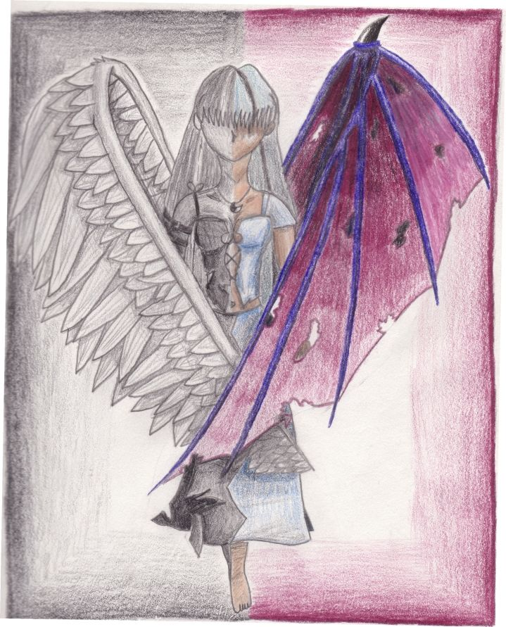 angels and demons drawings - Google Search | seraph and ...