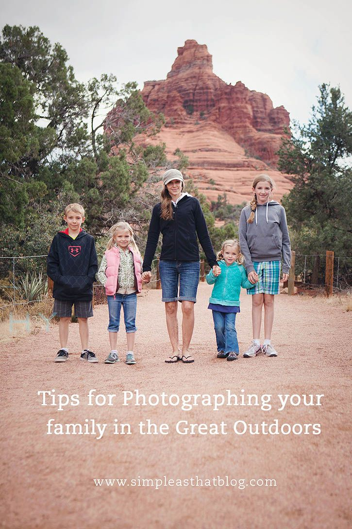 Tips for Photographing Your Family in the Great Outdoors #thegreatoutdoors
