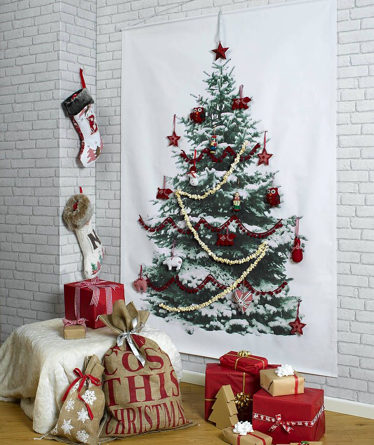 Original Christmas tree wall hanging || @pattonmelo