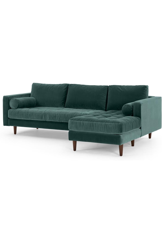 Made Com Meridiennes Bleu Sofa Furniture Couch
