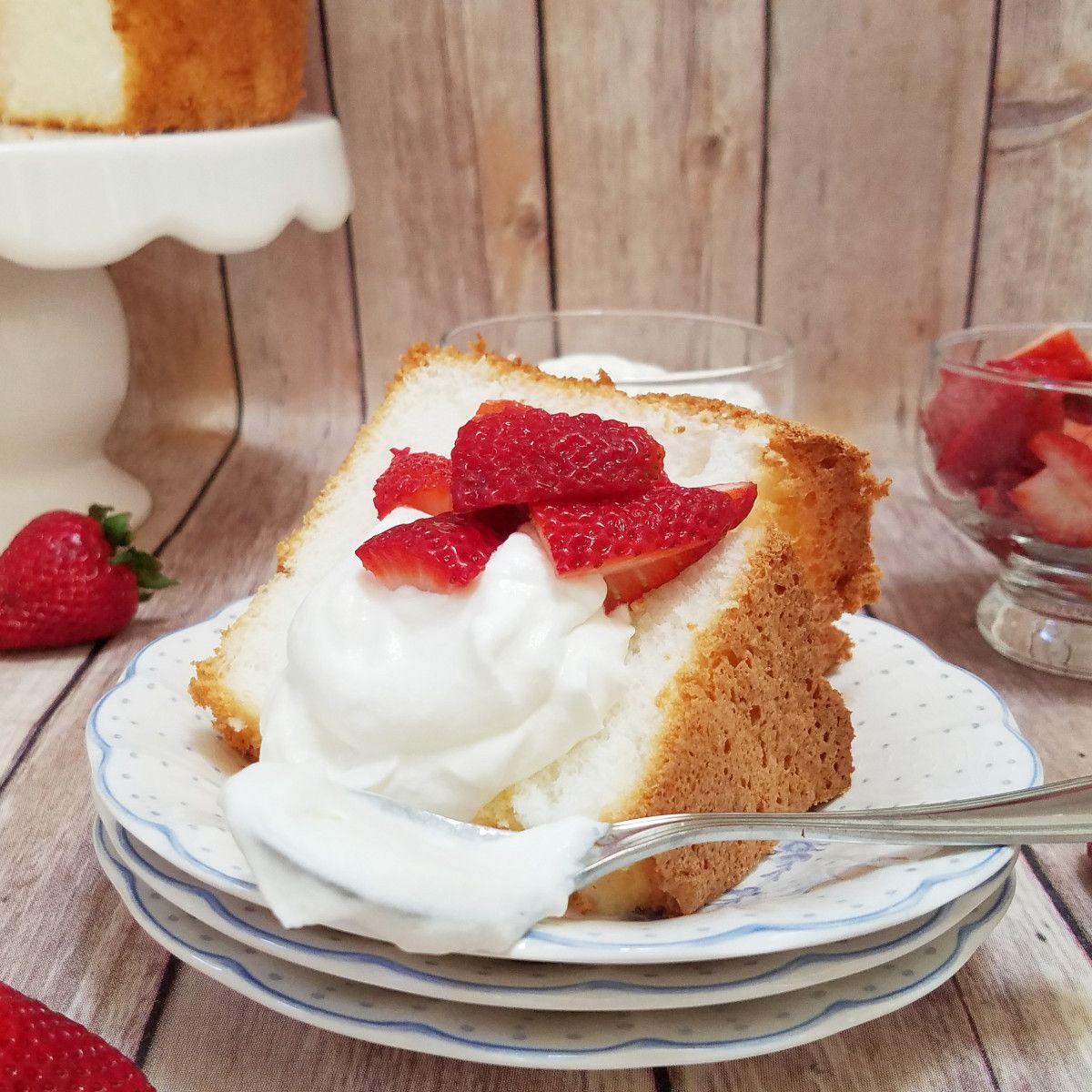Ina Garten's Angel Food Cake Gluten free angel food cake