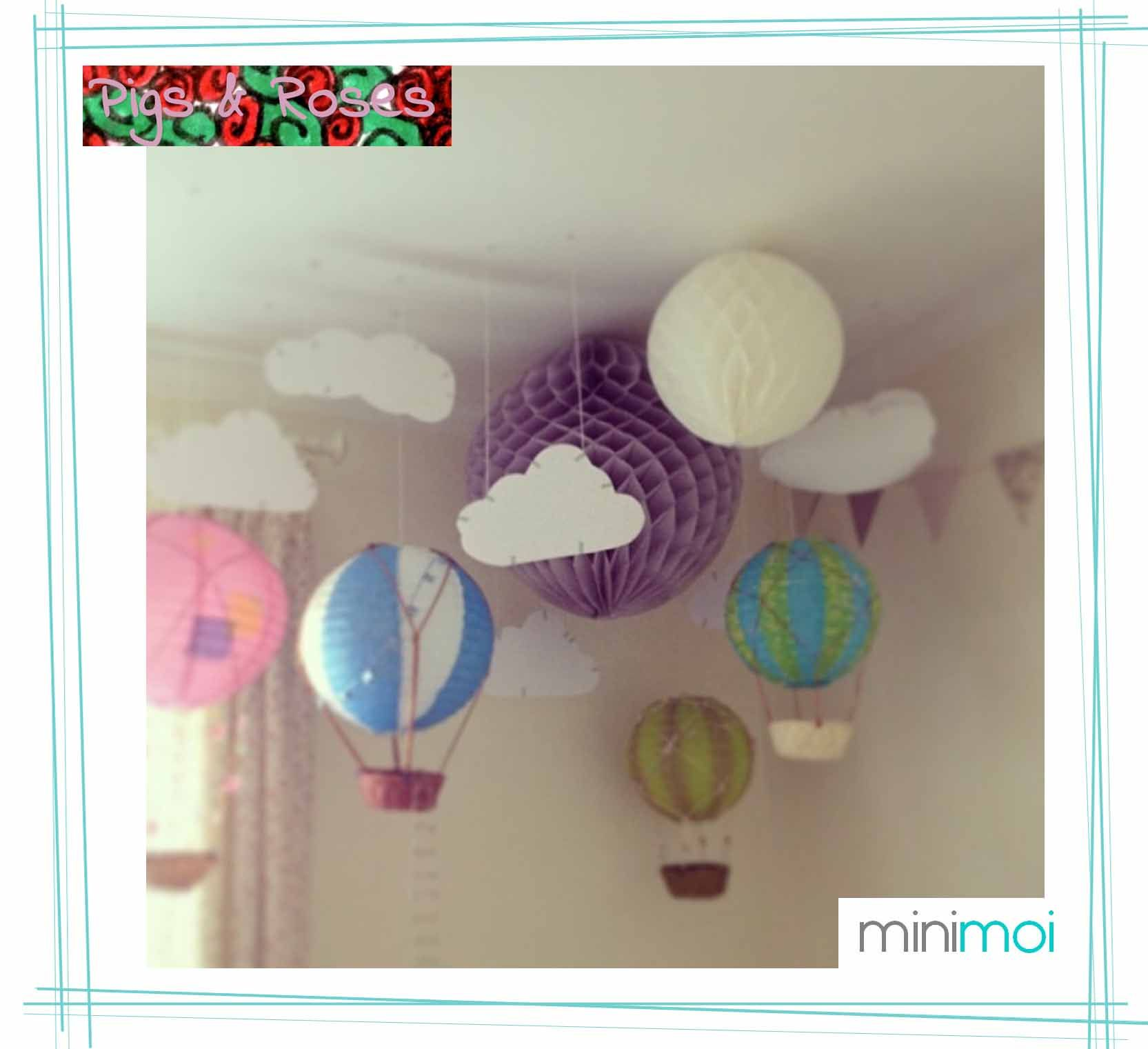 globos de papel decoracin habitacin bebe buscar con google
