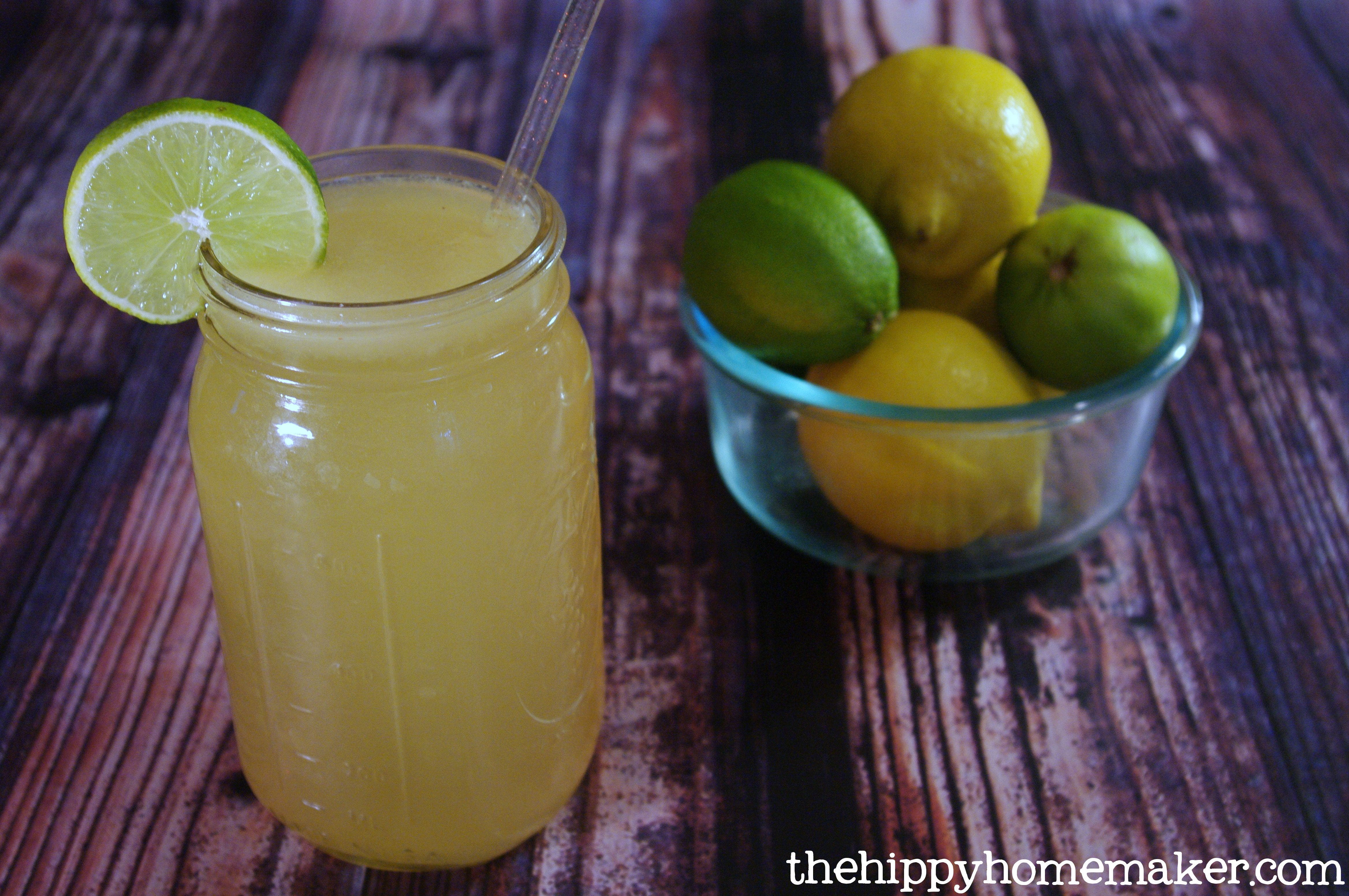 Homemade electrolyte drink a healthy gatorade