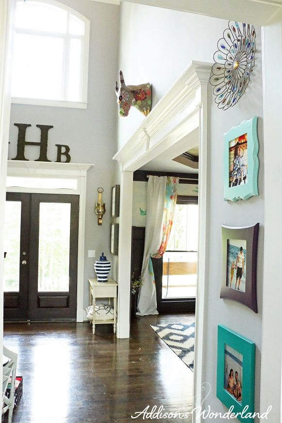Summer Home Tour Addison S Wonderland Home House Design Foyer Decorating