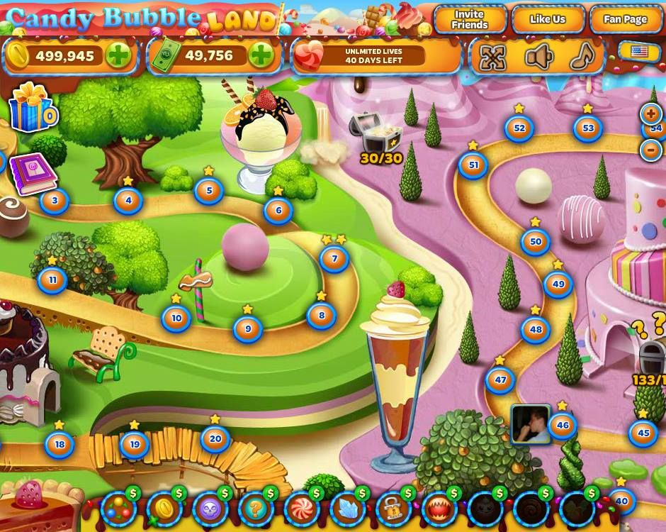 Candy Bubble Land