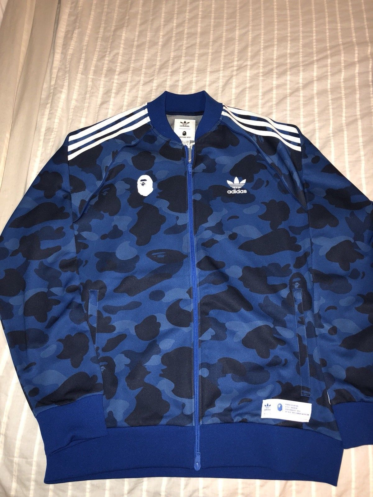fcb87220b8a07 Details about Adidas x A Bathing Ape Bape Men's Firebird Jacket ...